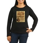 The Head of Joaquin Women's Long Sleeve Dark T-Shi