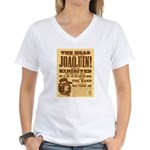 The Head of Joaquin Women's V-Neck T-Shirt
