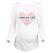 Unique Affirmation Long Sleeve Maternity T-Shirt