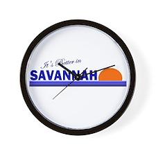Its Better in Savannah, Georg Wall Clock