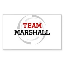 Marshall Rectangle Decal