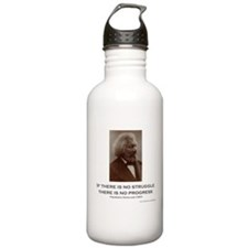 """Struggle and Progress Water Bottle"