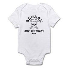 Beware: My 2nd Birthday Infant Bodysuit