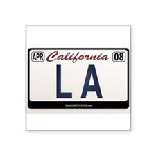 "Unique California native Square Sticker 3"" x 3"""