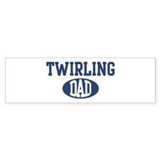 Twirling dad Bumper Bumper Sticker