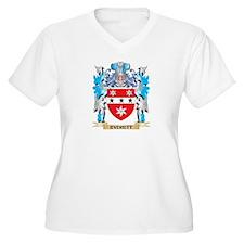 Everett Coat of Arms - Family Crest Plus Size T-Sh