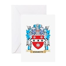 Everett Coat of Arms - Family Crest Greeting Cards