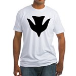 Descending Dove Of Peace Fitted T-Shirt