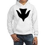 Descending Dove Of Peace Hooded Sweatshirt