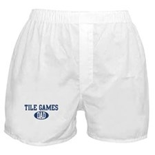 Tile Games dad Boxer Shorts