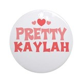 Kaylah Ornament (Round)
