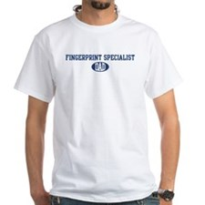 Fingerprint Specialist dad Shirt