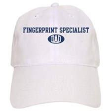Fingerprint Specialist dad Baseball Cap