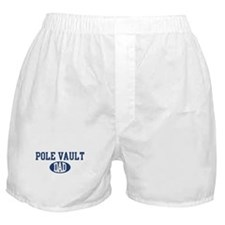 Pole Vault dad Boxer Shorts