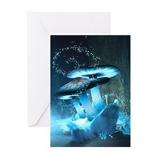 Ice Fairytale World Greeting Cards
