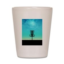 Disc Golf Basket Shot Glass