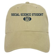 Social Science Student dad Baseball Cap