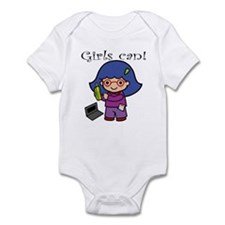 Girl Computer Professional Infant Bodysuit