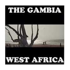 Gambia #2 Tile Coaster