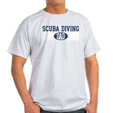 Scuba Diving dad T-Shirt