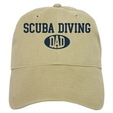 Scuba Diving dad Baseball Cap