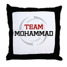 Mohammad Throw Pillow