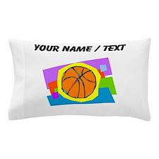Custom Cartoon Basketball Pillow Case