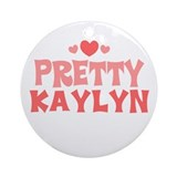 Kaylyn Ornament (Round)