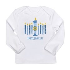 Hanukkah 1st Birthday Long Sleeve Infant T-Shirt