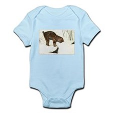 Bobcat Art Infant Bodysuit