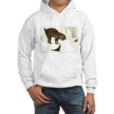 Bobcat Art Hooded Sweatshirt
