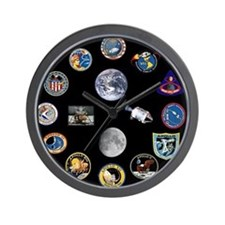 Project Apollo Wall Clock