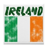 Faded Ireland Tile Coaster