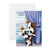 Wire Fox Terrier Parlor Pals Greeting Cards (Pk of