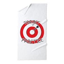 Target Practice Beach Towel