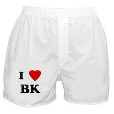 I Love BK Boxer Shorts