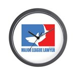 ML Lawyer Wall Clock