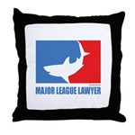 ML Lawyer Throw Pillow