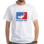 ML Lawyer White T-Shirt