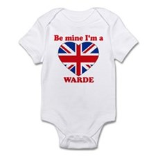 Warde, Valentine's Day Infant Bodysuit