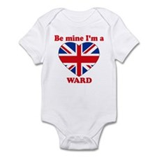 Ward, Valentine's Day Infant Bodysuit