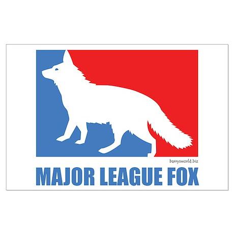 ML Fox Large Poster
