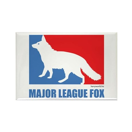 ML Fox Rectangle Magnet (100 pack)