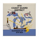 9th Coast Guard District &lt;BR&gt;Tile Coaster