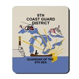 9th Coast Guard District &lt;BR&gt;Mouse Pad