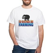 2-farming-rather-blacksheep T-Shirt