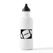 football logo black Water Bottle