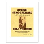 Wanted Cole Younger Small Poster