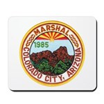 Colorado City Marshal Mousepad