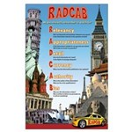 RADCAB Large High School Poster 23x35 Large Poster